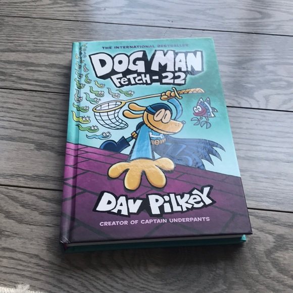 Dog man fetch -22 book